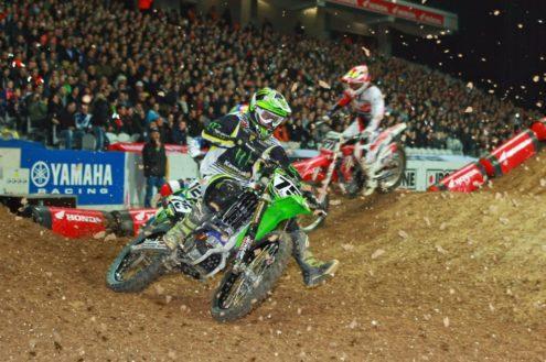 Cedric Soubeyras chooses his ride for Arenacross