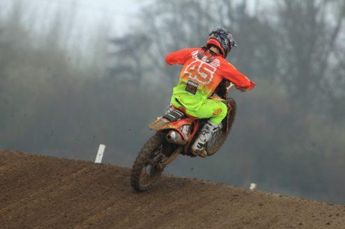 Hitachi KTM riders dominate British Motocross round at Culham