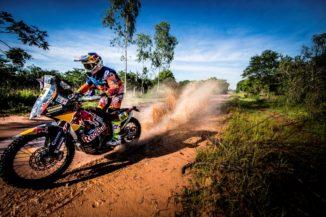KTM riders kick off their Dakar Rally