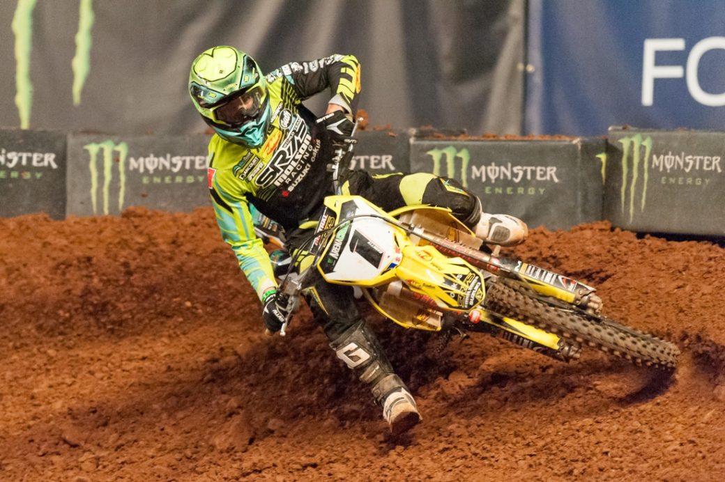 Ramette gets ride for Daytona AMA Supercross
