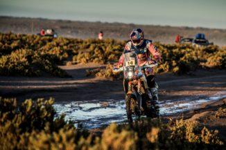 Sam Sunderland increases overall lead in Dakar Rally