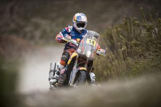 Sam Sunderland leads Dakar Rally into week two