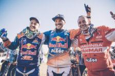 Sam Sunderland tops Dakar podium