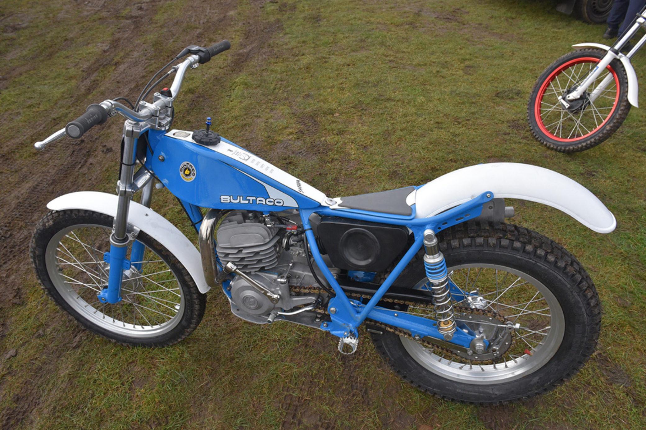 Take a look: Simon Bown's Bultaco