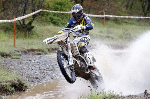 Tough weekend for Husqvarna Factory Racing at Greek EnduroGP