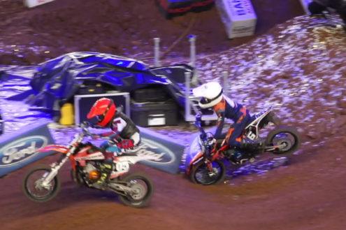 65cc Youth rider Ollie Colmer – AX Birmingham crash