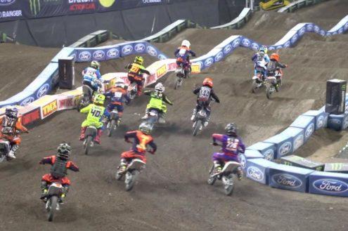 Video: Arenacross UK 2016 – Manchester 65 Class Final