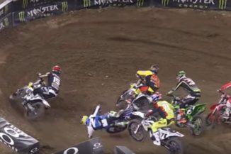 Video: Cooper Webb crashes hard in Minneapolis