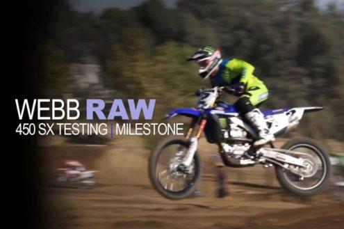 Video: Cooper Webb SX Testing