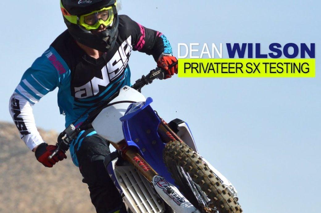 Video: Dean Wilson – Supercross Privateer Prep