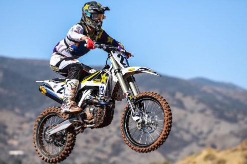 Video: Jason Anderson SX testing