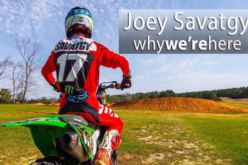 Video: Joey Savatgy shredding Ricky Carmichael's Farm