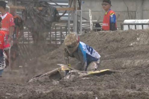 Video: MX2 'very muddy' highlights
