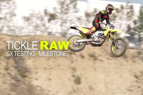 Video: RCH Suzuki's Broc Tickle SX testing