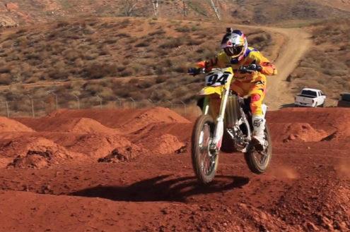 Video: RCH Suzuki's Ken Roczen SX practice