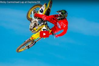 Video: Ricky Carmichael lap at Daytona SX