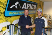 Whatley signs for Apico Husqvarna