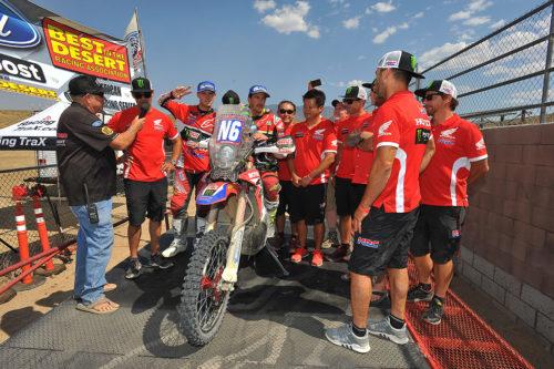 Barreda and Brabec win the 2017 Vegas-Reno