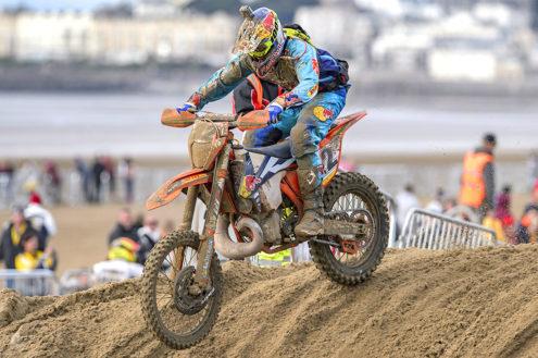Jonny Walker signs up to race Weston Beach Race