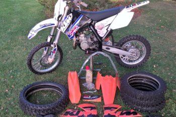 KTM 85 SX SW17/14 2010 MX Motocross Bike & Spares. Great Condition