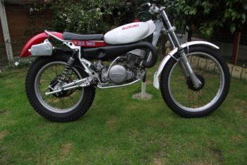 1980 Beamish Suzuki 250 Twin Shock Trials