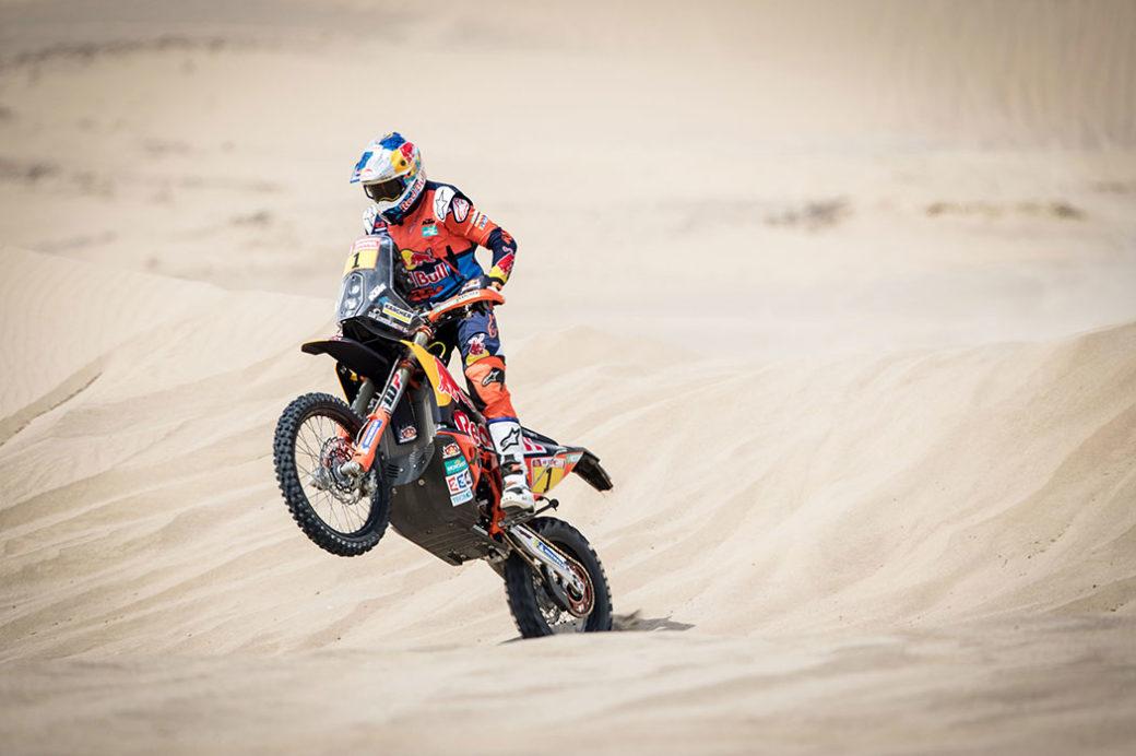 Sam Sunderland Dakar 2018
