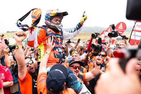 Red Bull KTM Factory Racing's Matthias Walkner wins 2018 Dakar Rally