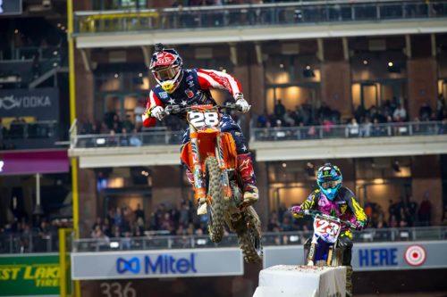 Shane McElrath AMA Supercross San Diego 2018