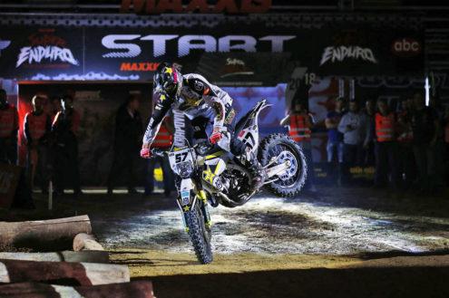 SuperEnduro podium for Billy Bolt in Spain