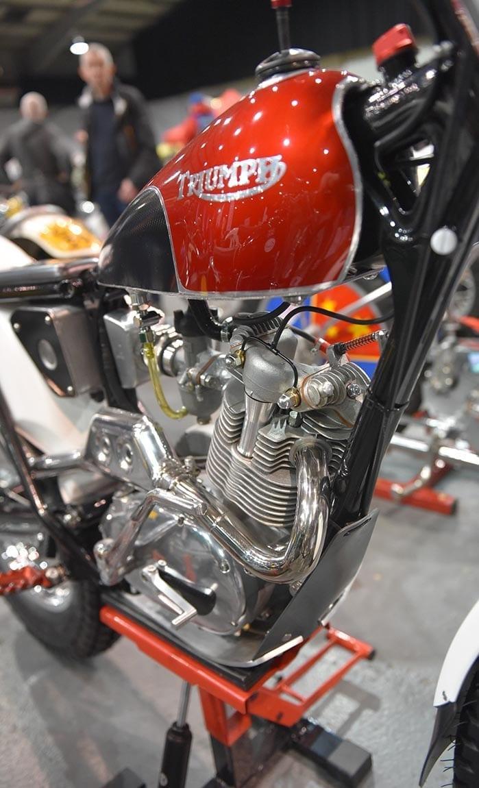 Take A Look Triumph Cub Twin Shock