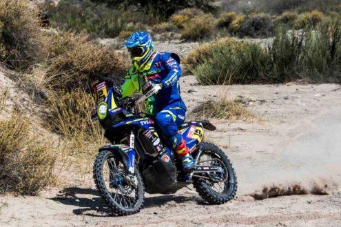 Factory Sherco's Joan Pedrero on a tough Dakar Rally