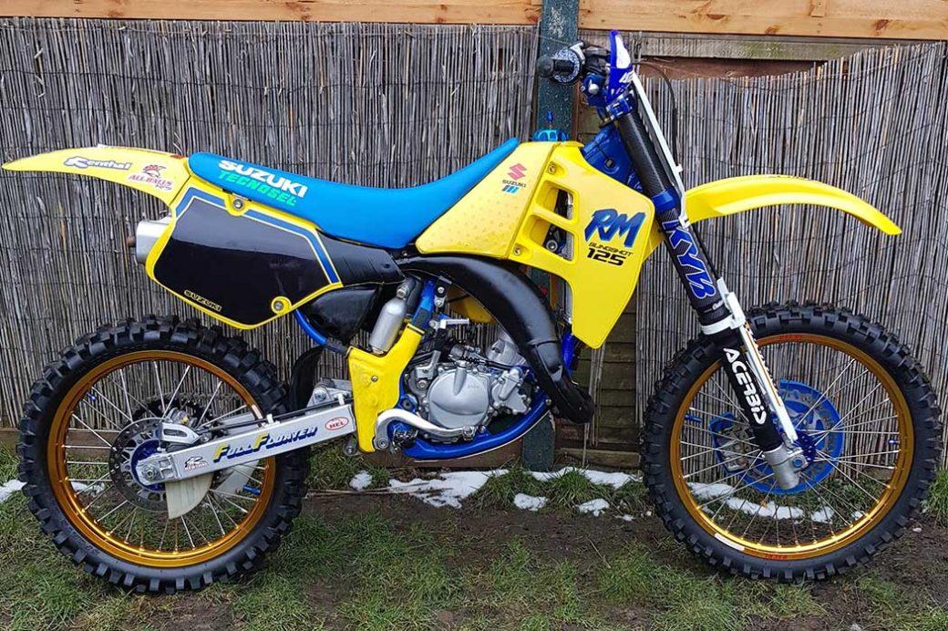 Take a look: Darren Shearwood's Suzuki