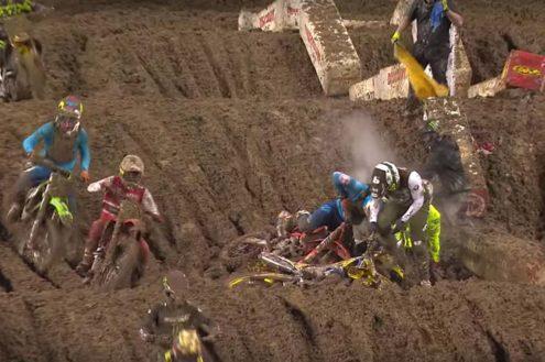 Seattle Supercross mudder highlights