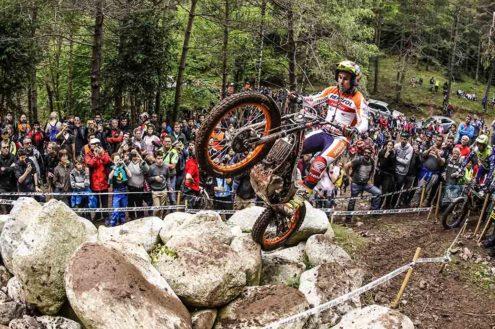 Toni Bou TrialGP Spain 2018