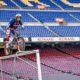 Toni Bou 'plays' at the Camp Nou