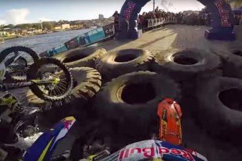 Jonny Walker's insane POV through the streets of Porto at Extreme Lagares