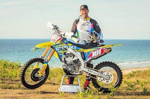 David Knight teams up with SR75 Suzuki to take on Weston Beach Race