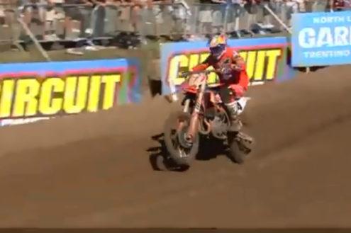 Jeffrey Herlings crash – MXGP of Belgium
