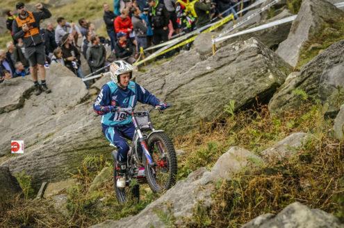 Donna Fox, Trial World Championship - Addingham 2018