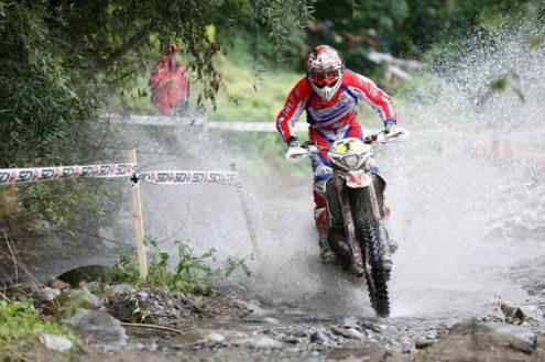 Steve Holcombe, Enduro World Championship - Edolo, Italy