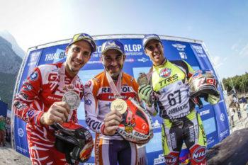 Toni Bou makes it seven wins for season at TrialGP Italy