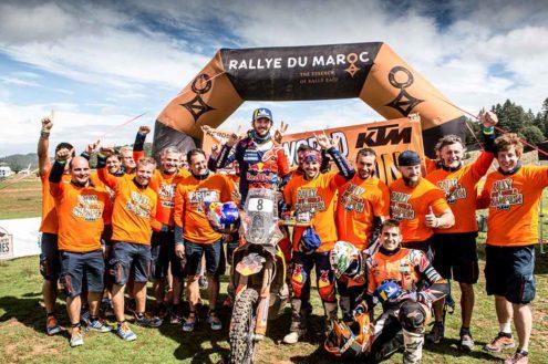 Toby Price wins 2018 FIM Cross-Country Rallies World Championship