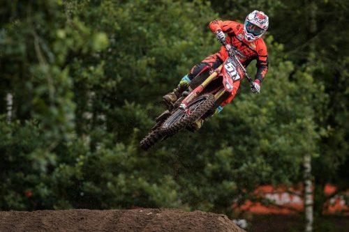 Steven Clarke, Maxxis British Motocross Championship - Hawkstone Park 2018