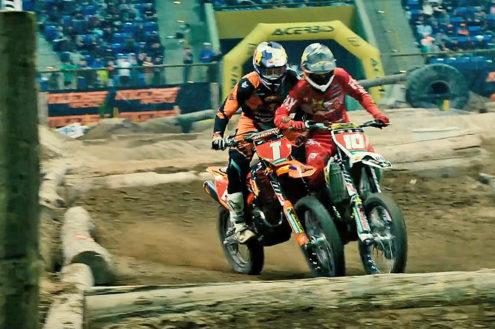 Intense highlights action from the Denver Endurocross