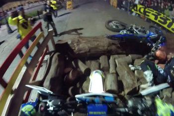 Helmet Cam: Mario Roman wins Hixpania Hard Enduro city prologue