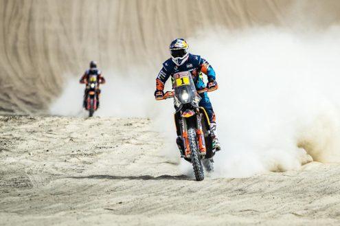 Stage two Dakar win for KTM's Matthias Walkner