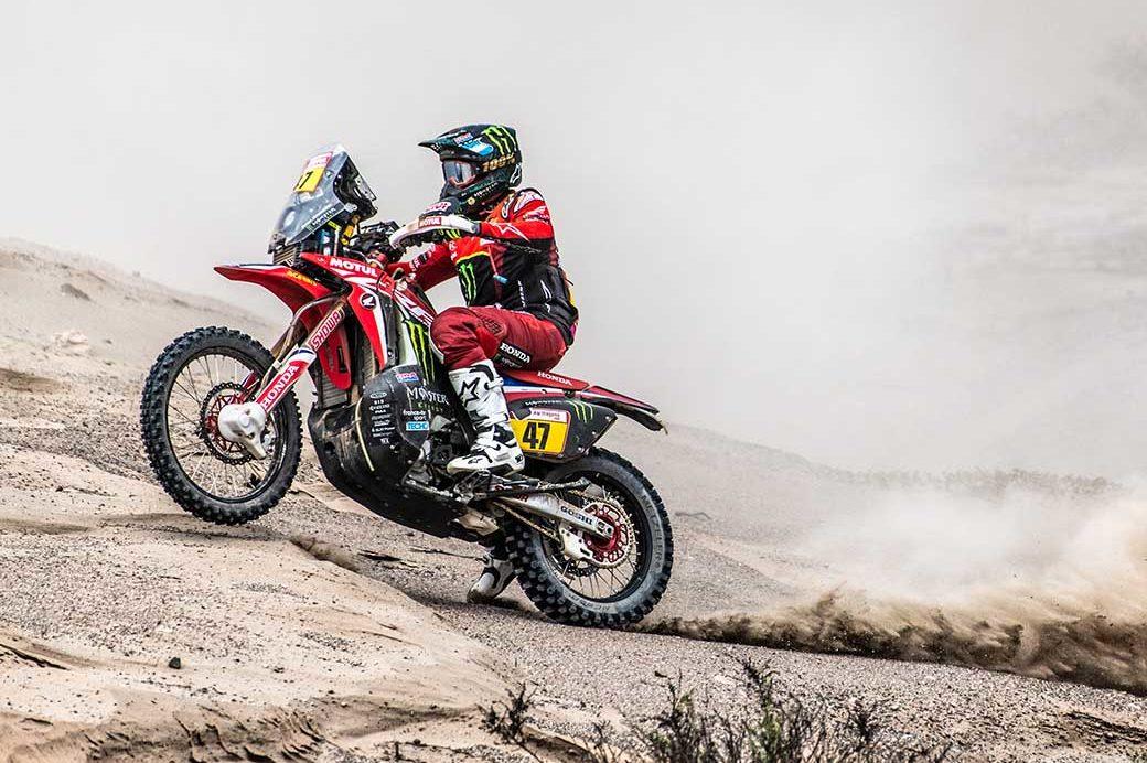 Mixed bag for Monster Energy Honda on Dakar Day 3