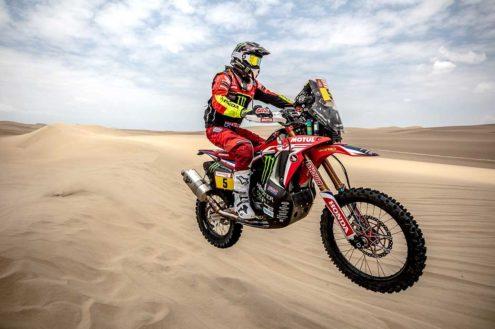 Barreda off to a flying start as the Dakar gets underway