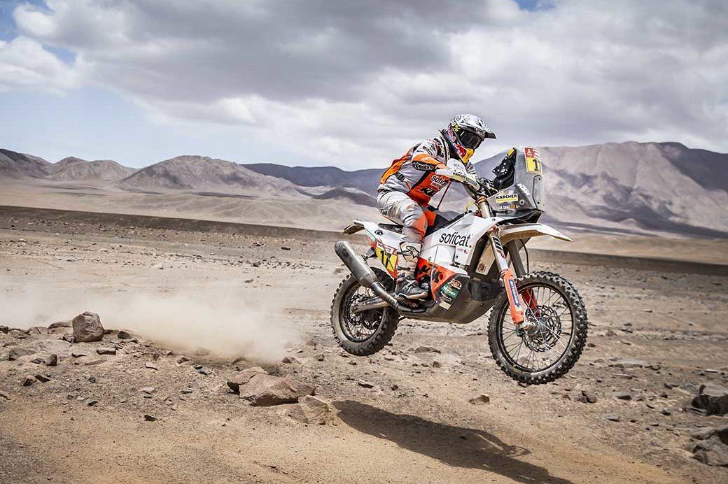 Laia Sanz - Stage 5 Dakar 2019