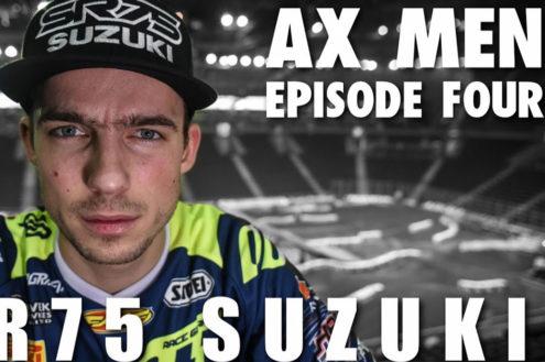 SR75 Suzuki take on the wild Arenacross Championship – AX Men Episode 4